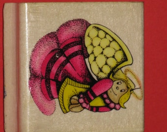 Angel Rubber Stamp Sky Kids CUTE