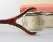 Magnifying Glass Cocobolo,Maple, Walnut Contemporary and Functional Gift for Grandparents, Office Gift, 60th Birthday