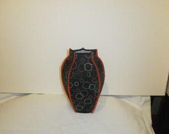 Vase Cover in Silk Fabric