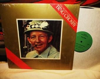 Amazing The Greatest Christmas Shows Bing Crosby Vinyl Record  LP ARX 100 1980 33 American RetrospectivesNM