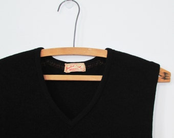 Jantzen Kharafleece Sweater Vest Vintage 50s S/M