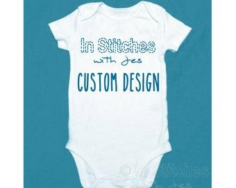Custom Design Onesie