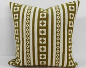 Robert Allen Designer Pillow Cover, Pillow Cushion, Citron, Green, Throw Pillow Cover,  16 x 16