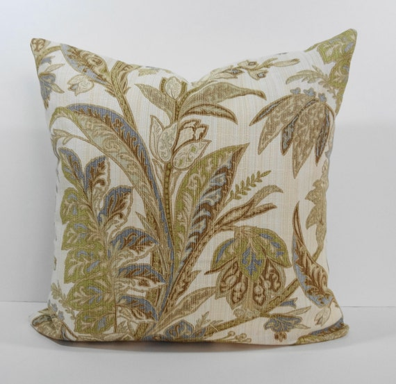 Tropical Throw Pillow Covers : Tommy Bahama Designer Tropical Pillow Cover by pillows4fun on Etsy