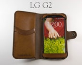 Leather LG G2 Wallet / Le...