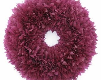 Berry Wreath --- Outdoor Wreath --- Wine Wreath --- Door Wreath --- Indoor Outdoor Wreath --- Winter Wreath --- Valentine's Wreath