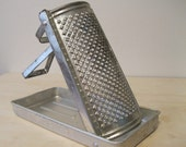 Vintage Rustic Brevettata Grater with Tray