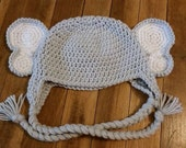 Crochet Elephant Hat