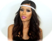 The Center of Attention, R.A. CZ Crystal stretch Headband
