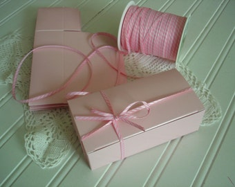 Pink Favor Box  Bakery  Boxes - ( 12)  1/2 lb  Candy Boxes for Party Favors, Candy and Treats