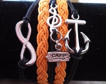 5-Strand music cruise bracelet