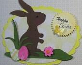 Two Easter Bunny Embellishments
