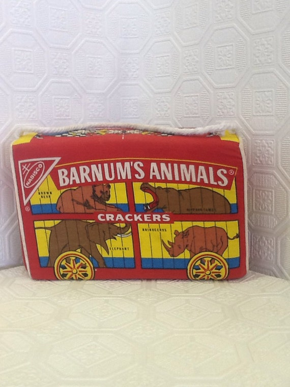 Items similar to Nabisco Barnum s Animal Crackers Pillow on Etsy