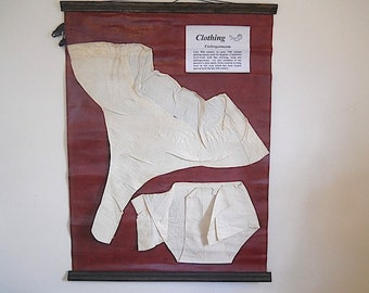 19th Century Linen Clothes - Unique Gift For Mothers Day, Antique Linen Undergarments, Gift For MOM WIfe, Antique Underwear
