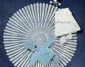 Crochet Layette and Shawl PDF Vintage Pattern B015 from WonkyZebraBaby