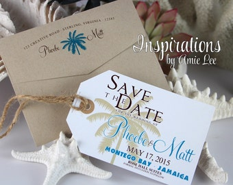 Save the Dates Luggage Tags