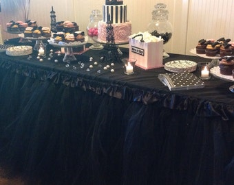 1 Tulle Table Skirting