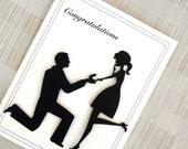 Wedding Card - Engagement Card - Bridal Shower Card - Congratulations - Wedding Proposal
