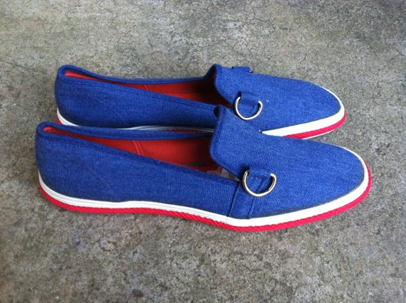 keds grasshoppers canvas shoes nautical new stock