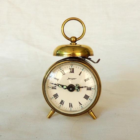 RESERVED Vintage Jerger Alarm Clock West Germany by ...