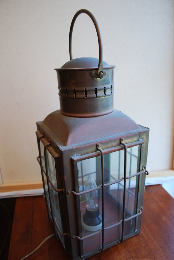 Vintage ELECTRIC LANTERN
