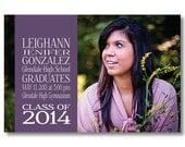 Printable Graduation Announcement