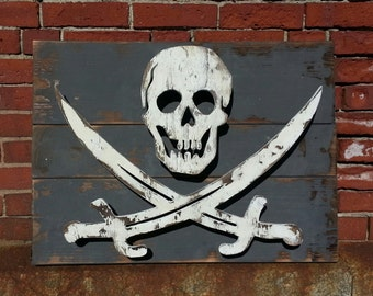 Jolly Roger - Lighted Silhouette