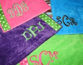 Plus Size Bath Wraps Monogram and Ribbon Included Free Shipping