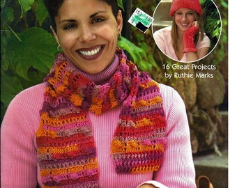Ruthie's Crocheted Accessories  / Crochet Pattern Book  /  Leisure Arts 4340