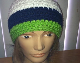Crocheted Hat Beanie Color Choices Available