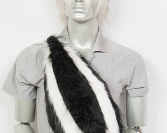 deluxe Fluffy Skunk Set Cosplay, Accessories, Costume