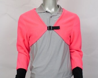 Fluorescent Pink Crop Top