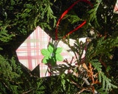 Origami Scottie Dog Holiday Ornaments - Set of 5