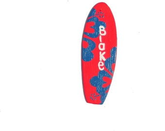 Surfboard Party Favor, Boy's Beach Party Decoration, 6.5 inch Mini Surf Board, Nautical Birthday Party Favors