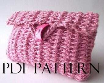 CROCHET BAG PATTERN crochet purse pattern Carmencita bag  pdf pattern Instant Download Cosmetic Case Crochet Jute Bag Pouch Bag Simply Sweet