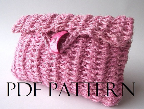 Crochet Cosmetic Bag Pattern : ... crochet Purse pattern Clutch Bag pattern cosmetic case pattern