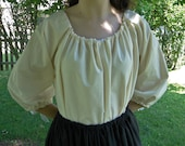 Renaissance Chemise, Womens Shift Muslin One-Size-Fits-All S, M, L, XL -