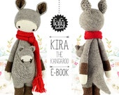 lalylala crochet pattern KANGAROO KIRA - amigurumi
