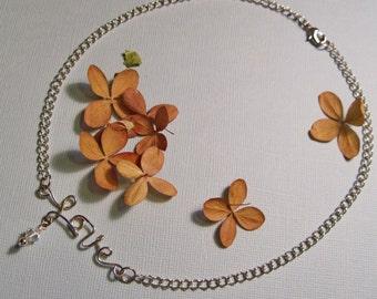 Love & Swarovski Crystal Birthstone Necklace