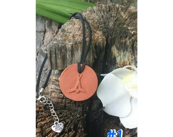 Boys and GIrls FAVORITE SPORTS Terra cotta Essential Oil Diffuser Pendant for Aromatherapy Necklace for therapeutic oils