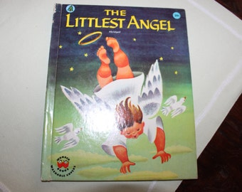 1960 The Littlest Angel Hard Back Book, by Children's Press, Inc.