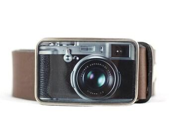 Camera Belt Buckle, Retro Belt Buckle