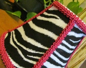 Zebra Hot Pink Girls Room Lamp Shades Chandelier Shades