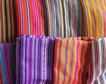 35% Discount Bundle of 8 - Tribal Fabric  - Peruvian fabric -