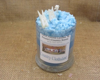 Country Clothesline  Gourmet Scented De-Light Candle