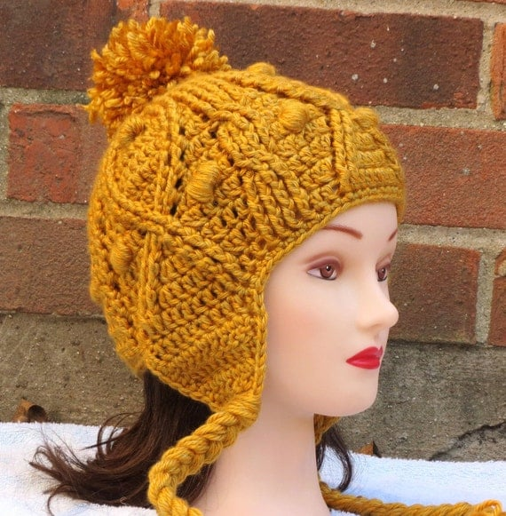 CROCHET HAT PATTERN Instant Download - Katie Cabled ...