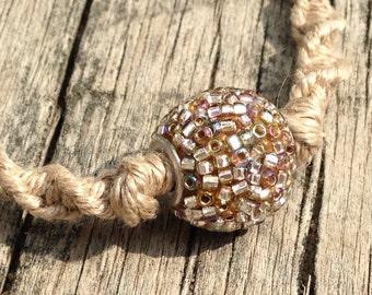 Mosaic bead bracelet