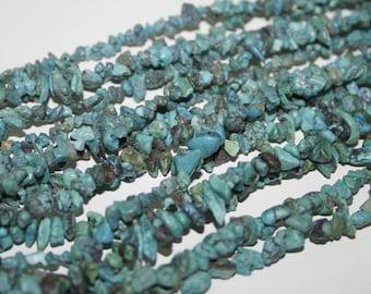 Turquoise  5-10mm ,400pcs  Art.Nr.528-21