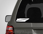 Tennessee VOLUNTEERS Home State Vinyl Decal