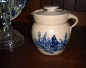 Lovely Vintage Paul Storie Pottery Co. Pourer Jug, Primitive, Country, Pottery collector. Eclectic